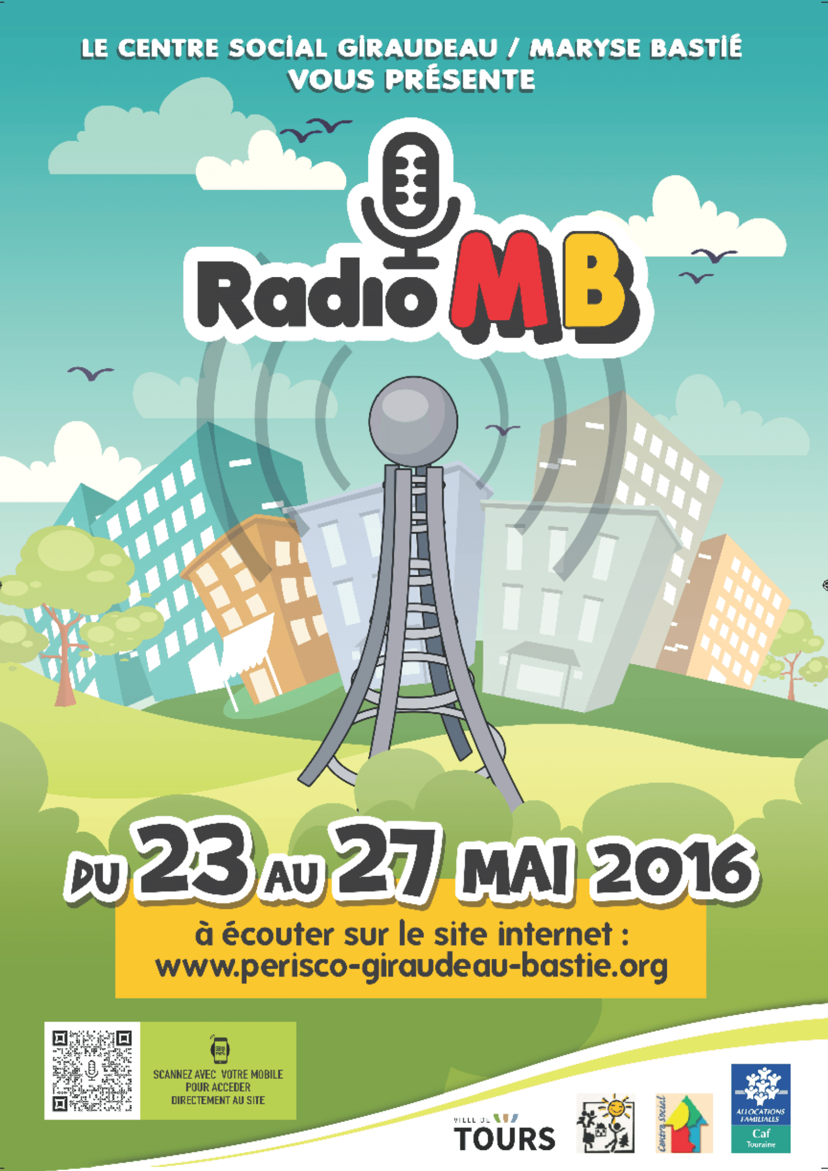 Affiche Radio Maryse Bastié 2016
