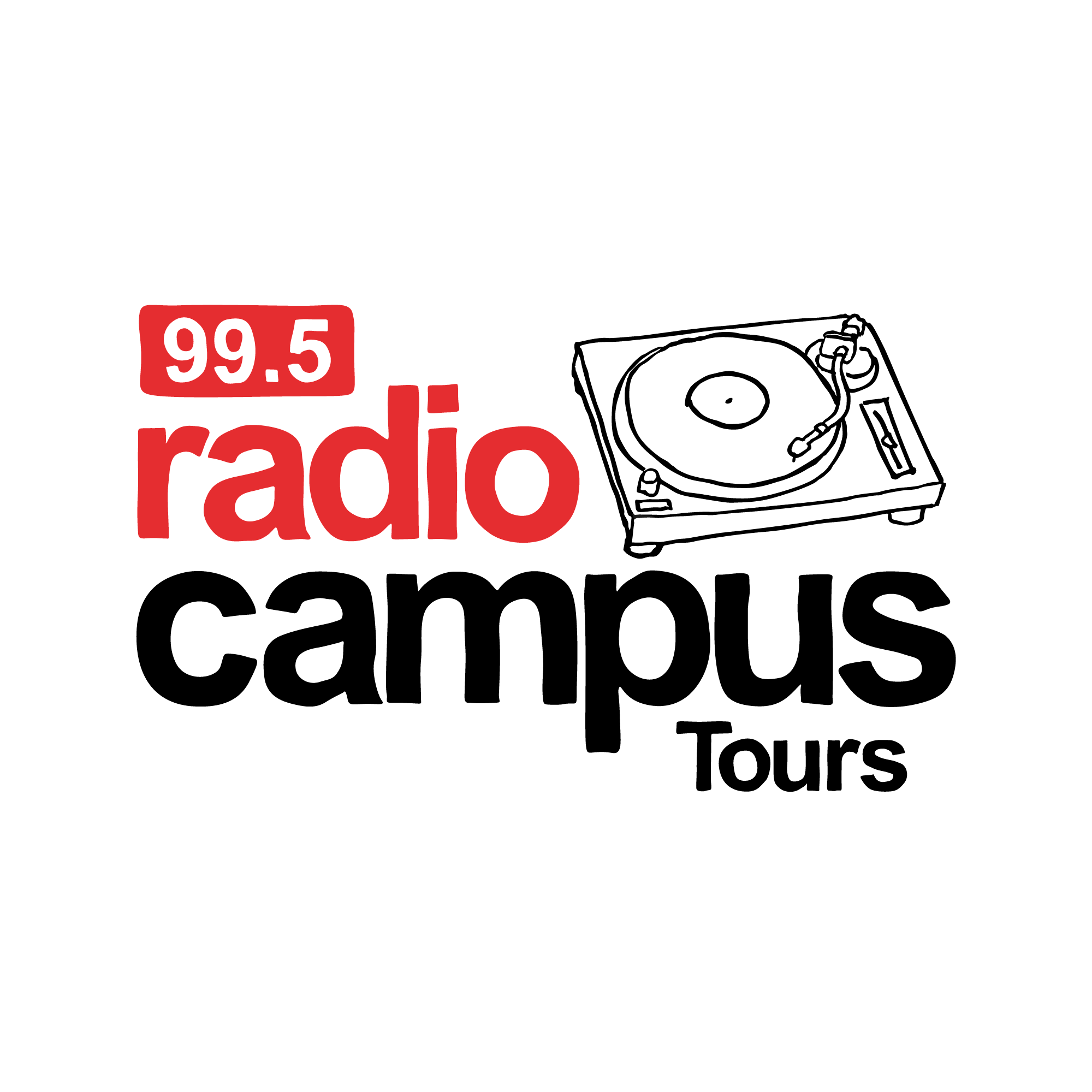 Logo Radio Campus Tours